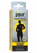 Пролонгирующий мужской спрей с экстрактом имбиря Pjur Superhero Performance Spray Strong 20 ml