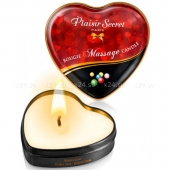 Массажная свеча с ароматом жевательной резинки Bougie Massage Candle (35 мл)