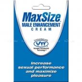 Крем для усиления эрекции Max Size Male Enhancement Formula (4 мл)
