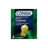 Презервативы анатомической формы CONTEX IMPERIAL (3 шт)