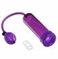 Фиолетовая вакуумная помпа с эрекционным кольцом Discovery RACER
