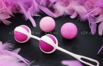 Вагинальные шарики разного веса Geisha Balls 2 (4 шарика) БЕЗ КОРОБКИ