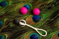 Магнитные вагинальные шарики разного веса Geisha Balls Magnetic (4 шарика) БЕЗ КОРОБКИ