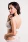 Бралетт с перекрещиванием на груди удлиненный белый SM