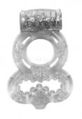 Эрекционное кольцо на член и мошонку с вибрацией Treadle