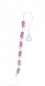 Анальная цепочка Peanuts on a String, розовая
