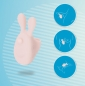 Вибронасадка на палец в виде зайчика JOS Dutty (7 режимов)