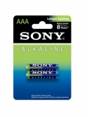Комплект из 2 батареек Sony Alkaline (AAA)