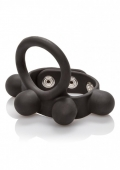 Эрекционное кольцо с утяжелителем мошонки C-ring Ball Stretcher (57 грамм)
