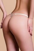 Трусики белые с украшением из страз Joli Gina, OneSize