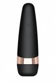Клиторальный вакуумный стимулятор Satisfyer Pro 3 Vibration (11 реж. пульсации, 10 реж. вибрации)