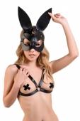 Кожаная маска кролика H.E.L. Bunny