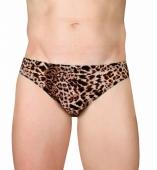 Слипы мужские леопардовые 46