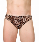 Слипы мужские леопардовые 48