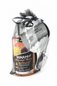 """Подарочный набор WARM UP: маска на глаза и разогревающее съедобное масло """"Манго и маракуйя"""" 150 мл"""
