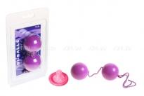 Вагинальные шарики Bi-balls фиолетовый