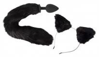 Игровой набор Bad Kitty Pet Play Plug & Ears
