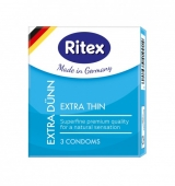 Ультра тонкие презервативы Ritex Extra Thin (3 шт.)