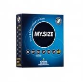 Презервативы латексные MY.SIZE ширина 69 мм (3 шт)
