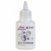 Ароматизированная пудра для игрушек Love Protection Лесные ягоды (15 гр)