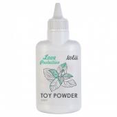 Ароматизированная пудра для игрушек Love Protection Мята (30 гр)