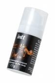 Жидкий массажный гель INTT VIBRATION Peach с эффектом вибрации и ароматом персика (17 мл)