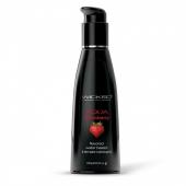 Съедобный лубрикант на водной основе Wicked AQUA Strawberry (вкус сочной клубники) 120 мл