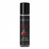 Съедобный лубрикант на водной основе Wicked AQUA Cherry (вкус сладкой вишни) 30 мл