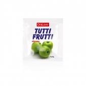 Оральный гель Tutti-Frutti со вкусом зеленого яблока (5 шт по 4 г)