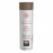 Съедобное масло для тела Body Oil LUXURY Гибискус & Зеленый Чай (75 мл)