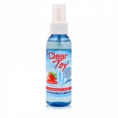 Очищающий спрей с ароматом клубники CLEAR TOY STRAWBERRY (100 мл)