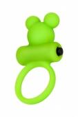 Эрекционное виброкольцо на пенис Медвежонок A-Toys
