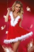 Новогоднее платье со шнуровкой и косточками Snowflake SM