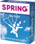 Ультратонкие презервативы SPRING Sky Light с ароматом ванили (100 шт)