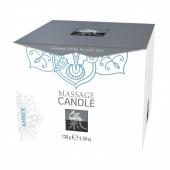Массажная свечка с ароматом Амбра (130 г)