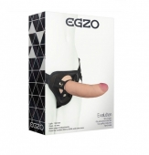 Страпон EGZO Evolution с реалистичным фаллосом (18,5 см)