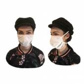 Маска-повязка для лица многоразовая