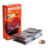 Презервативы Masculan тип 3 (С КОЛЕЧКАМИ И ПУПЫРЫШКАМИ) 10 шт.