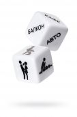Игральные кубики ''Кубики любви''