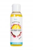 """Массажное масло для поцелуев Yovee """"Фруктовый поцелуй"""" со вкусом ананаса и кокоса (100 мл)"""