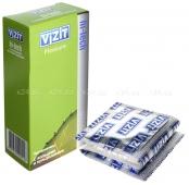 Презервативы VIZIT Hi-tech PLEASURE с кольцами и пупырышками, 12 шт.