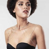 Цепочка на плечи Bijoux Indiscrets Magnifique Metallic chain shoulders & back jewelry