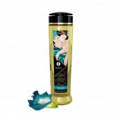 Натуральное возбуждающее массажное масло Shunga SENSUAL с ароматом Остров Цветов (240 мл)