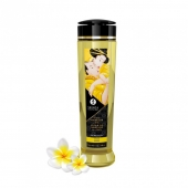 Натуральное возбуждающее массажное масло Shunga SERENITY с ароматом моной (240 мл)