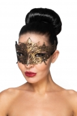 Золотистая карнавальная маска Каф