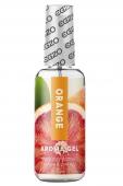 Оральный гель на водной основе EGZO AROMA Red Orangeс ароматом красного апельсина (50 мл)