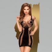 Эластичное бесшовное мини-платье Penthouse Juicy poison SL