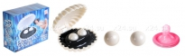 Вагинальные шарики в ракушке Pleasure Pearls
