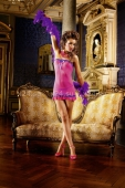 Мини-платье Neon Barock