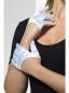 Короткие атласные перчатки